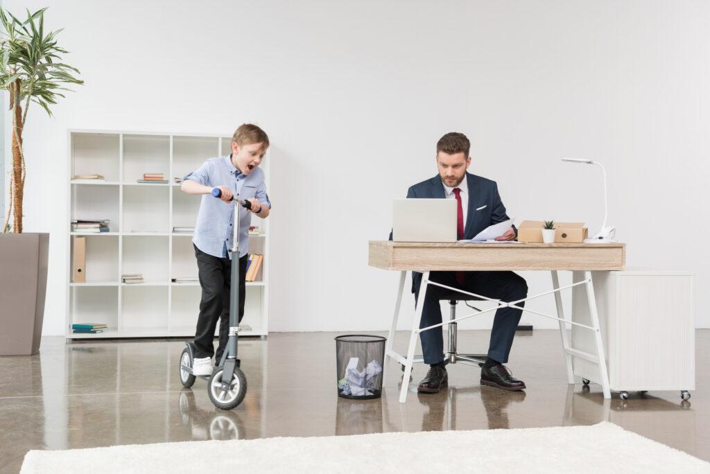 Kontor i hjemmet