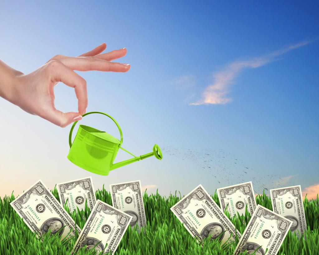 Tjen penge